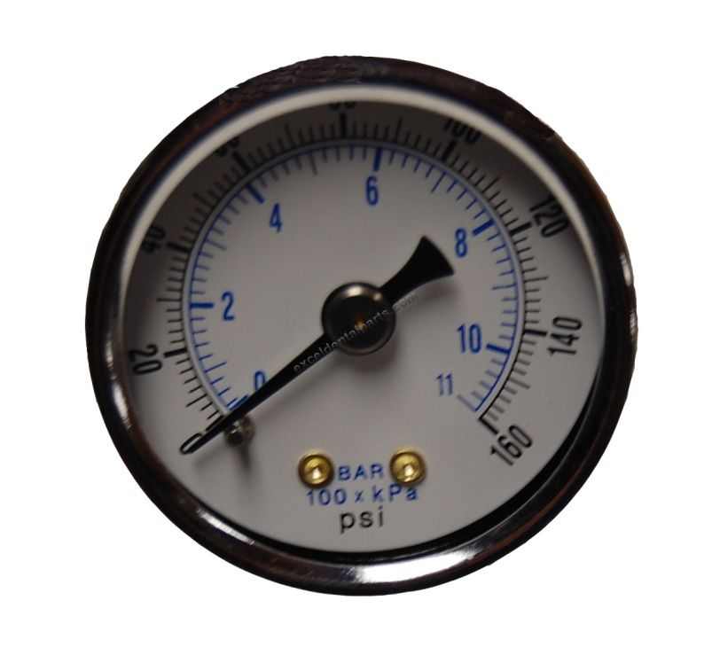 Regulator Gauge - Pelton & Crane® Spirit
