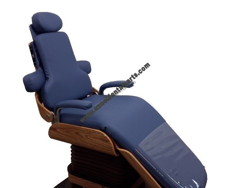 Pelton & Crane&reg Chairman Chair; Reconditioned with New Upholstery