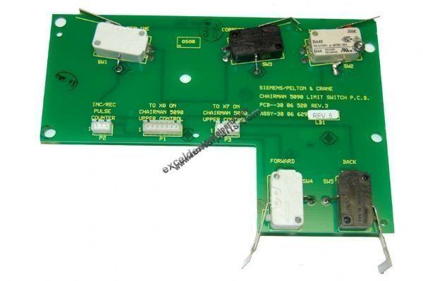 PCB Chairman 5090 Limit Switch; Reconditioned