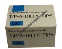 Disposable Tips 1 carton  (contains 6 boxes of 200 tips)