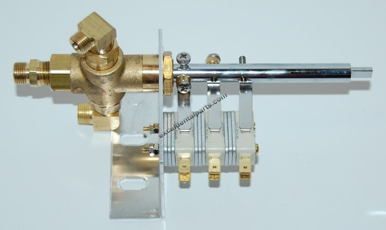 Multivalve Right Side w/ Switches; Tuttnauer®
