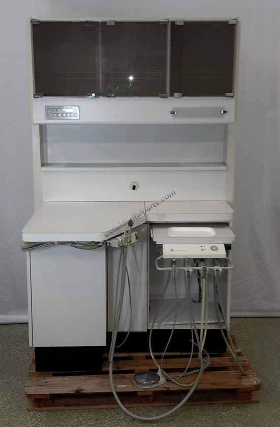 12 O Clock Cabinet - Upper storage with rear Dr delivery with assistant package.  New countertops.
